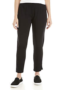 Slim Ankle Stretch Jersey Pants
