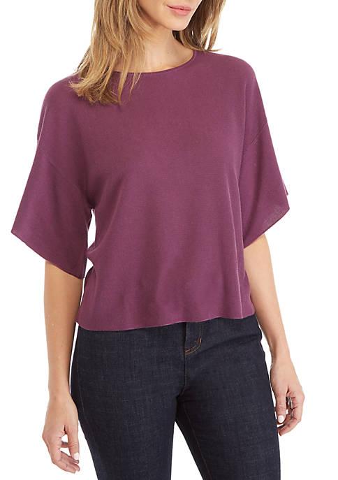 Eileen Fisher Elbow Sleeve Sweater