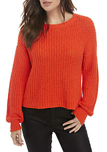 Cotton Cable Knit Sweater