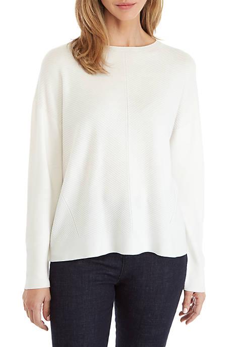 Round Neck Tencel® Sweater