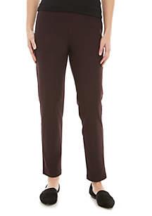 Eileen Fisher Slim Ankle Crepe Pants
