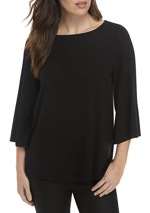 Eileen Fisher Wide Sleeve Top
