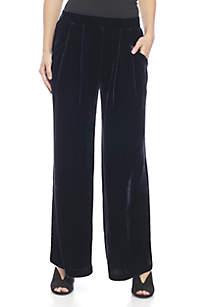Ankle Velvet Pants