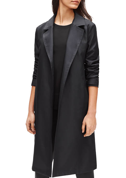 Eileen Fisher Trench Belted Coat