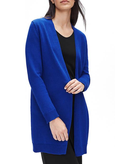 Womens Organic Long Cardigan