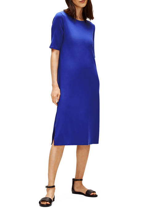 Eileen Fisher Womens System Easy Dress
