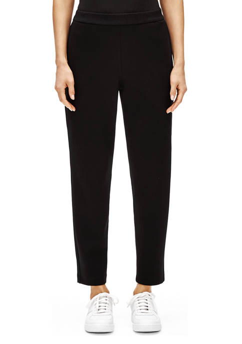Eileen Fisher Womens Slouchy Ankle Pants