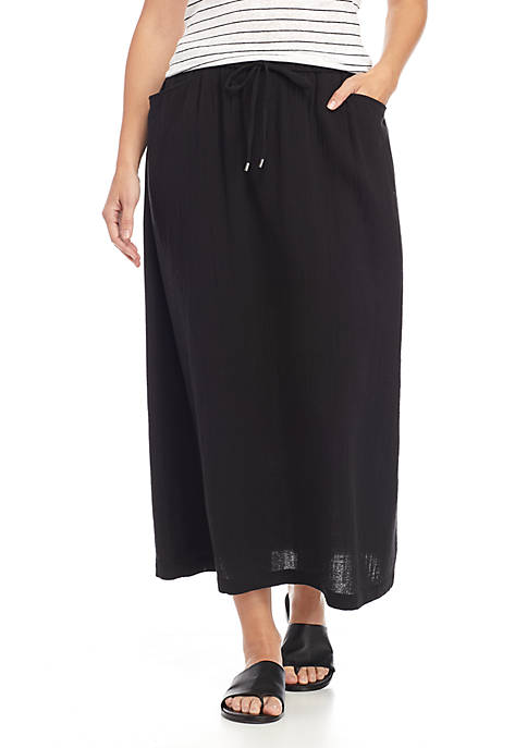 Eileen Fisher Drawstring Skirt