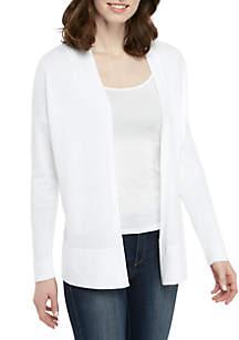 Eileen Fisher Long Sleeve Open Cardigan