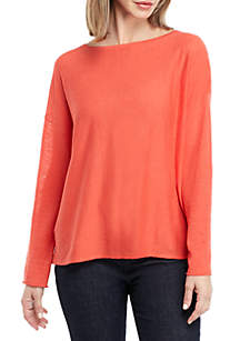 Eileen Fisher Boat Neck Box Sweater
