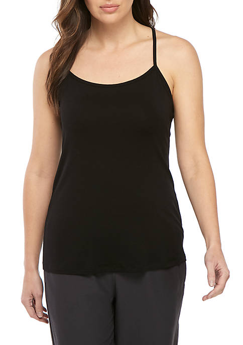 Eileen Fisher Scoop Neck Layer Cami Tank