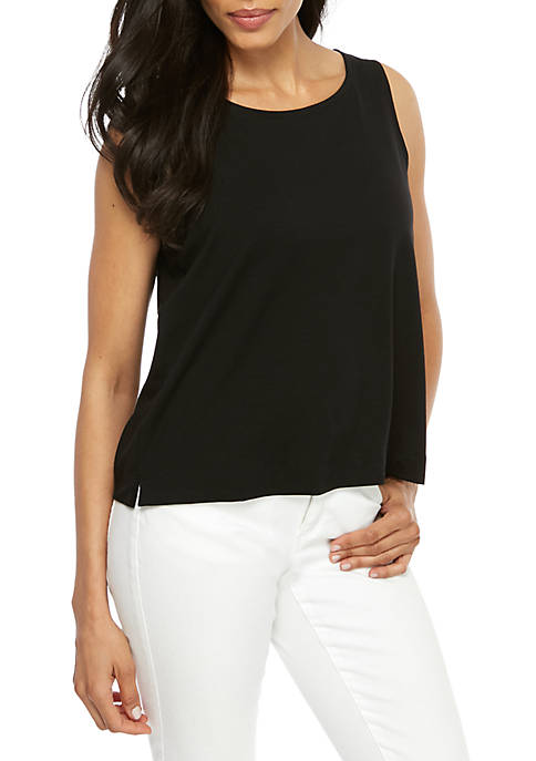 Eileen Fisher Boat Neck Jersey Cami