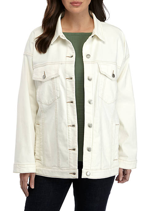 Eileen Fisher Long Jean Jacket