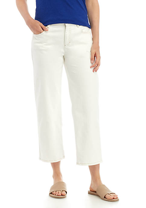 Straight Cropped Jeans