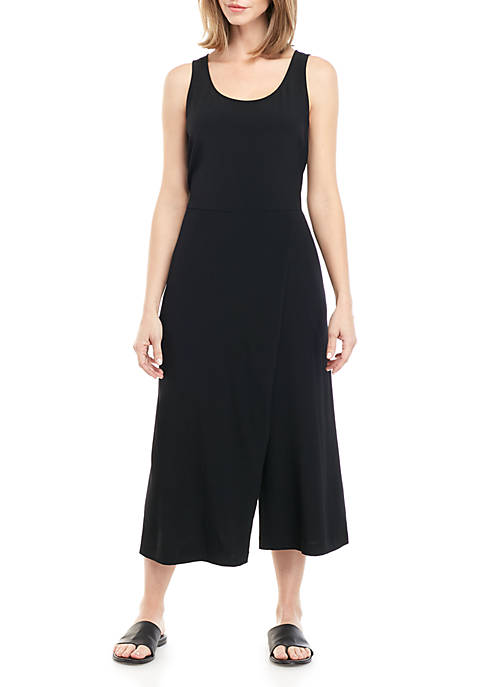 Eileen Fisher Wrap Skirt Cami Jumpsuit
