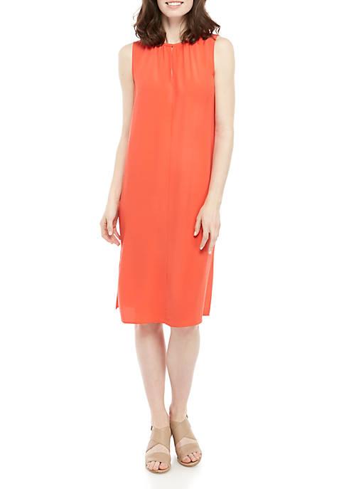Sleeveless Tencel® Dress