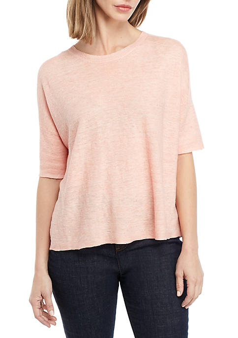 Eileen Fisher Melan Elbow Sleeve Sweater