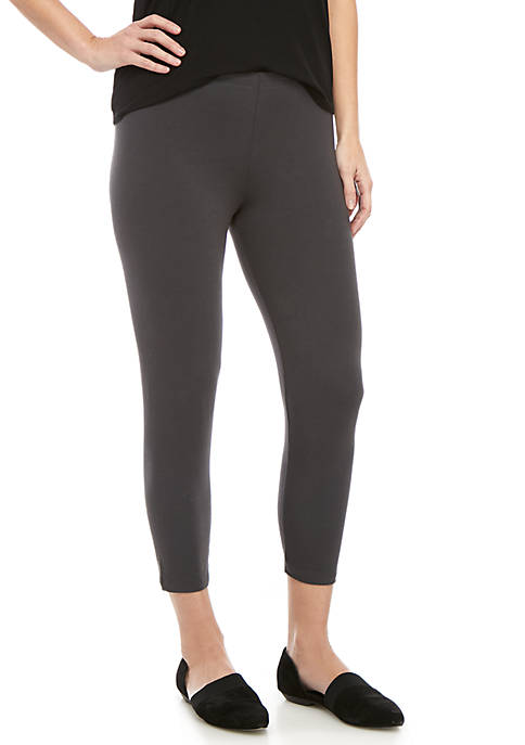 Eileen Fisher Straight Jersey Cropped Leggings