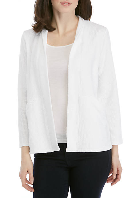 Eileen Fisher Knit Long Sleeve Kimono