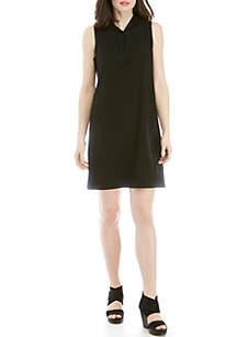 652749e31749fd ... Eileen Fisher Hoodie Sweatshirt Dress