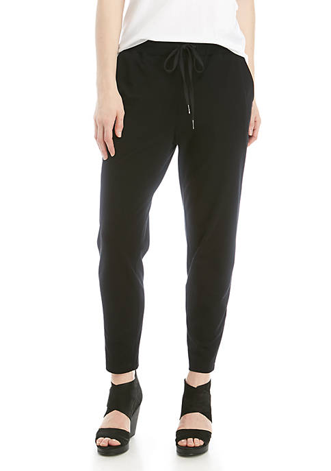 Slouchy Ankle Drawstring Pants