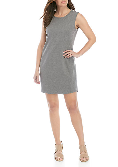 Eileen Fisher Heather Scoop Neck Dress