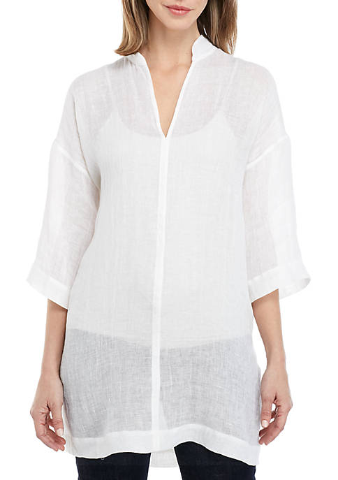 Eileen Fisher Gauze Tunic