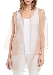 Eileen Fisher Kimono Sleeve Jacket