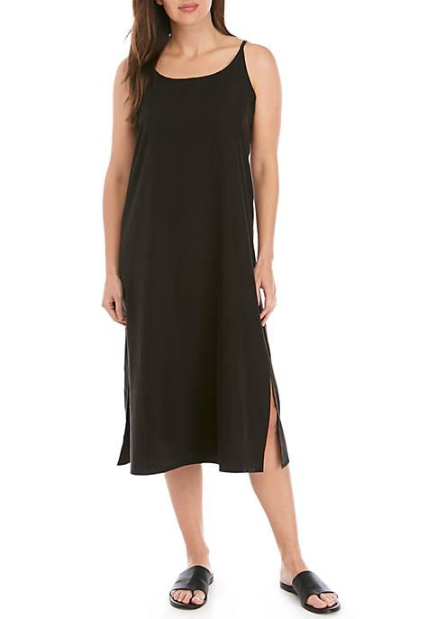 Eileen Fisher Sand Wash Tencel™ Cami Dress