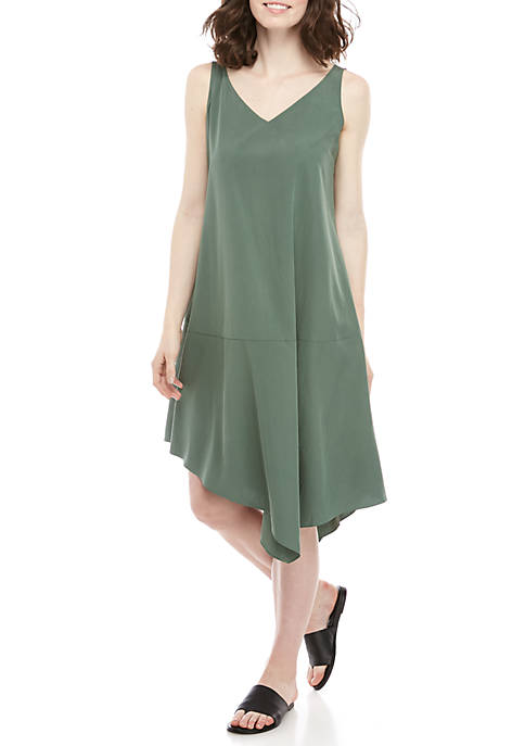 Tencel Asymmetrical Dress