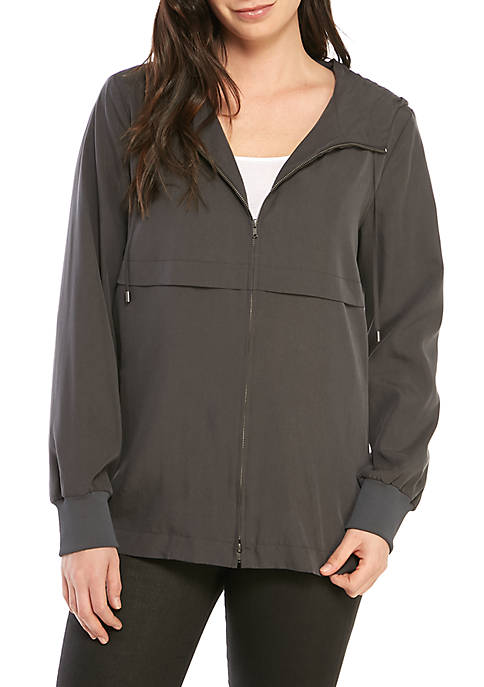 Eileen Fisher Sand Wash Tencel® Hood Jacket