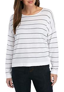 Eileen Fisher Stripe Box Sweater