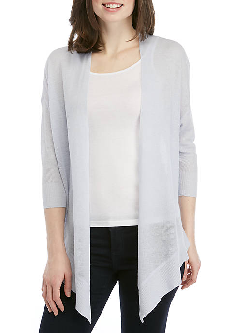 3/4 Sleeve Wrap Cardigan