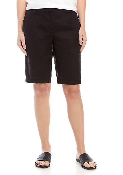 Eileen Fisher Linen Walk Shorts