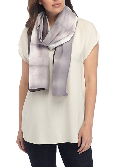 Eileen Fisher Silk Shibori Horizon Scarf