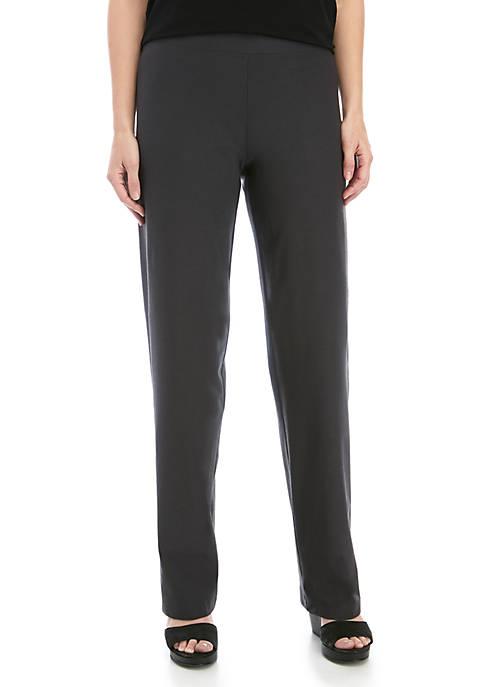Eileen Fisher Straight Yoke Crepe Pants