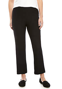 Eileen Fisher Straight Ankle Crepe Pants