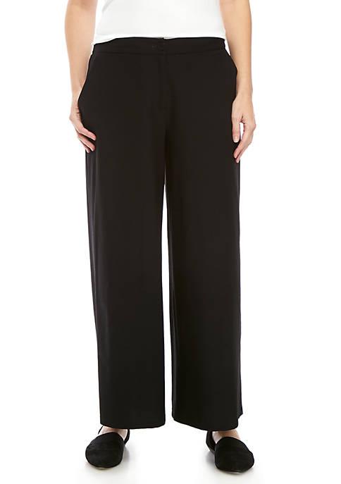 High Waist Ankle Pants
