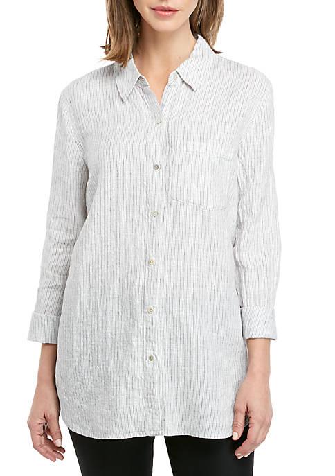 Stripe Linen Shirt