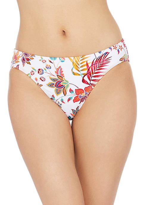Lauren Ralph Lauren Jacobean Floral Hipster Swim Bottoms