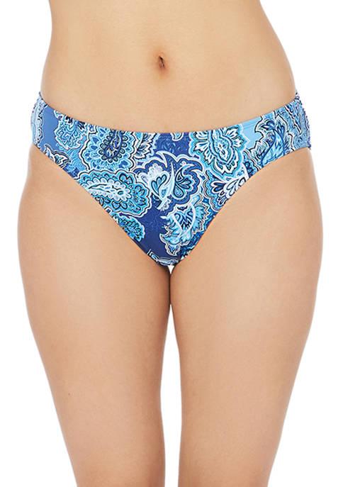 Lauren Ralph Lauren Bandana Paisley Hipster Swim Bottoms
