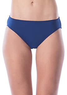 Solid Hipster Swim Bottom