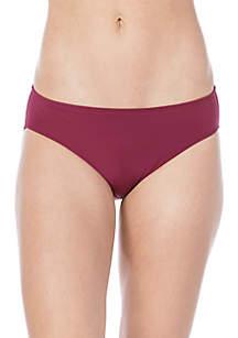 Lauren Ralph Lauren Solid Hipster Swim Bottom