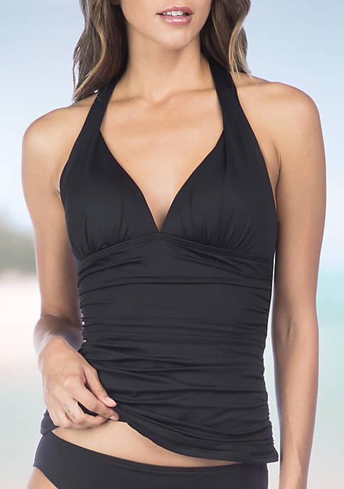 Beach Halterkini Swim Top