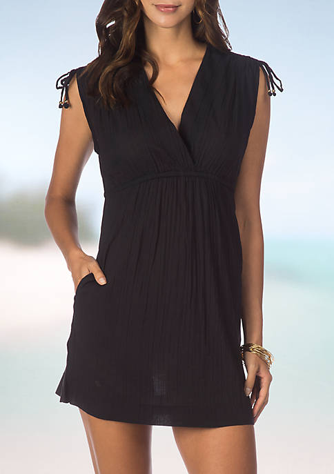 Crushed Farrah Dress Swimsuit Cover Up