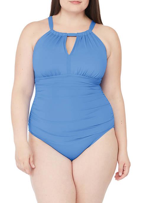 Lauren Ralph Lauren Plus Size Beach Club Solids