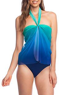 Ombre Flyaway 1-Piece Swimsuit