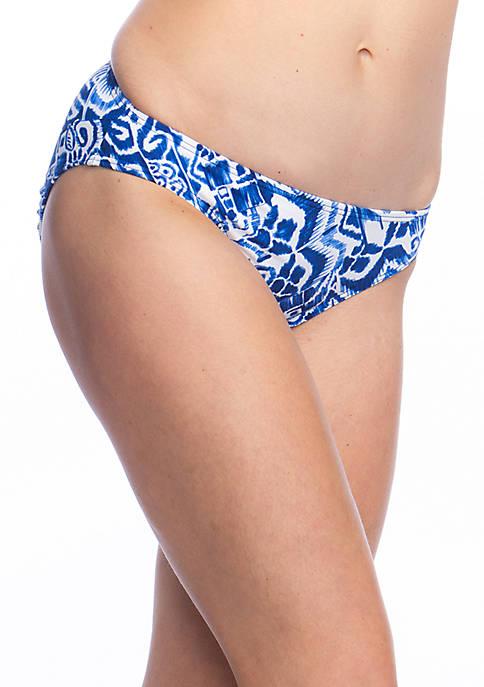 Lauren Ralph Lauren Tribal Ikat Hipster Swim Bottoms