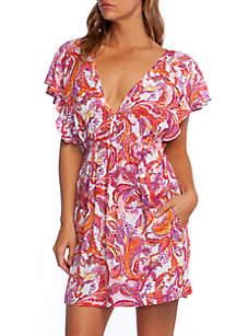 Lauren Ralph Lauren Fiesta Paisley Printed Swim Tunic