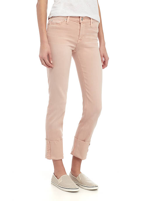 Hudson Jeans Tally Colored Crop Jeans